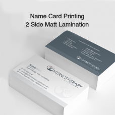 Name Card Printing - 2 Side Matt Lamination