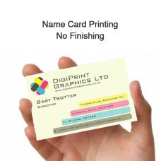 Name Card Printing - No Finishing