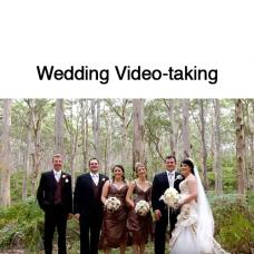 Wedding Video-taking