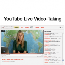 YouTube Live Video-Taking