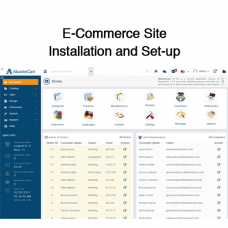 E-Commerce Site Installation and Set-up