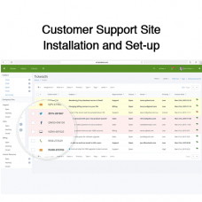 Customer Support Site Installation and Set-up