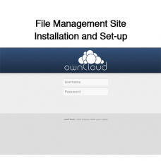 File Management Site Installation and Set-up