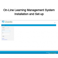 On-Line Learning Management System Installation and Set-up