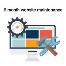 6 months Website maintenance